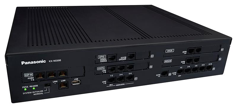 Panasonic KX-NS500 centralino telefonico voip analogico