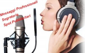 messaggi professionali per centralini segreterie e spot pubblicitari audio