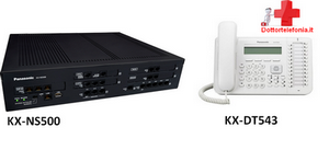 kit centralino ns500-dt543panasonic